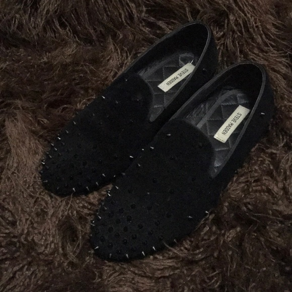 bef3dc4ae2c Steve Madden / Men's 11M suede loafers with studs
